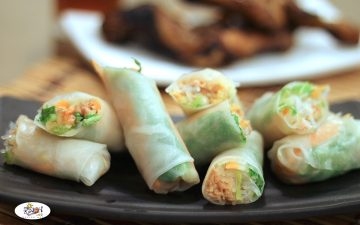 Thai Fresh Spring Rolls Recipe