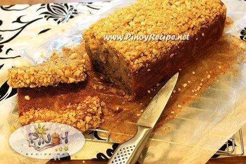 banana cashew bread recipe