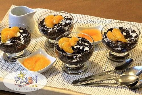black rice pudding recipe