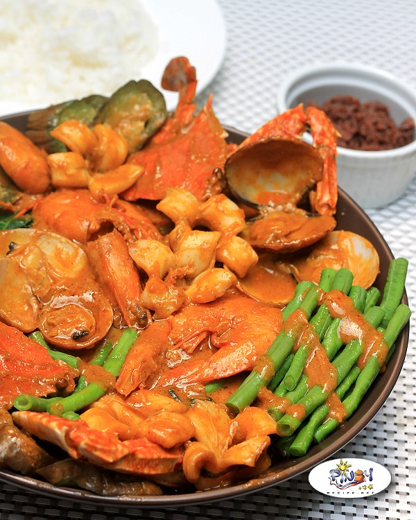 Seafood Kare kare Pinoy Recipe
