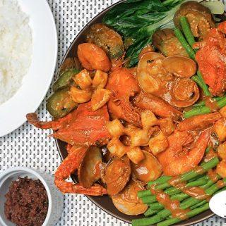 Seafood Kare kare Recipe