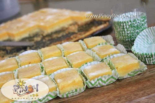 calamansi bars pinoy recipe
