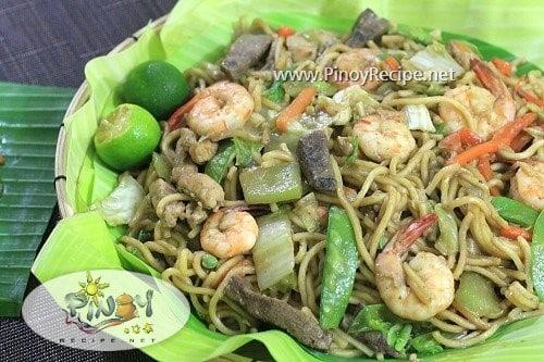 pancit habhab filipino recipe