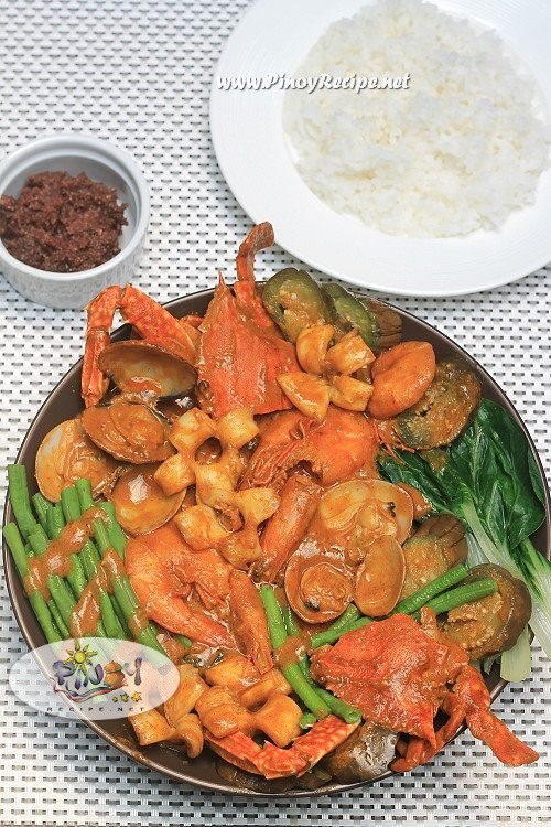 seafoods kare kare filipino recipe