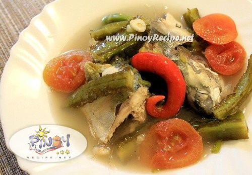 sinigang na isda with sigarilyas