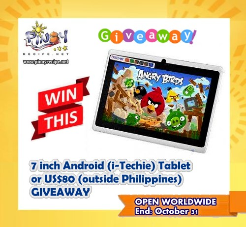 i-techie 7 inch android tabletgiveaway