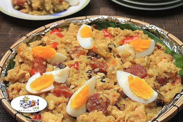 Bringhe Filipino Paella