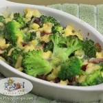 Cheesy Bake Broccoli Recipe
