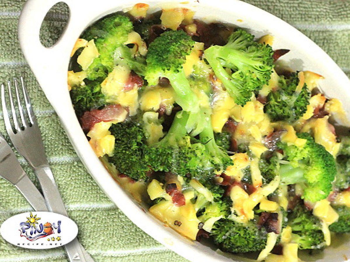 Healthy Bake Broccoli Cheese Recipe Pinoy Recipe At Iba Pa