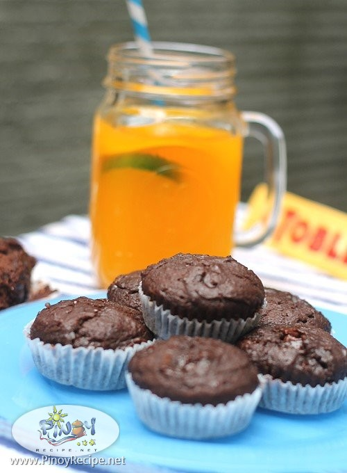 toblerone muffins recipe