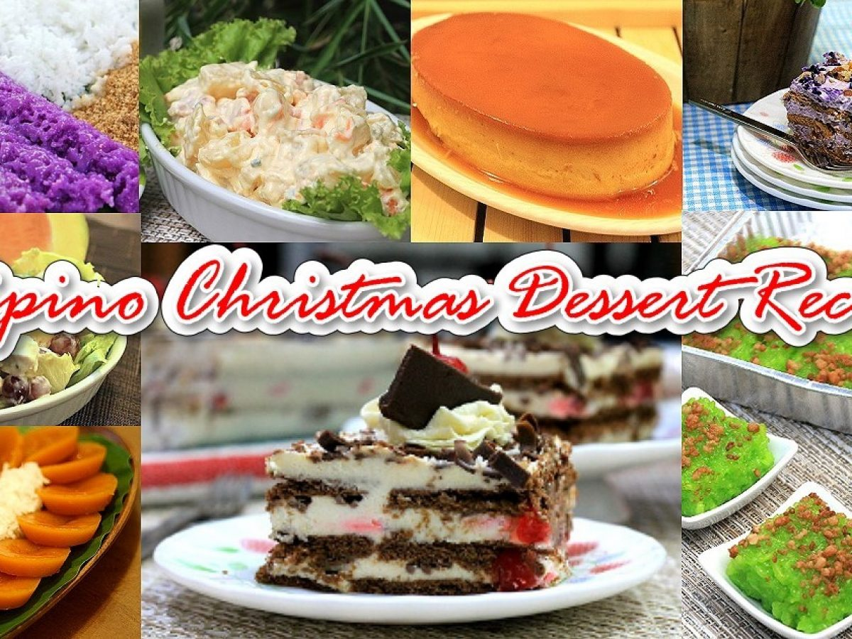 Filipino Christmas Desserts | Pinoy