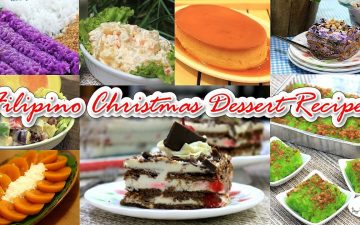 Filipino Christmas Dessert Recipes