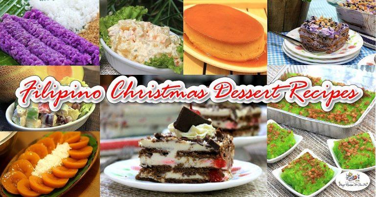 Filipino Christmas Dessert Recipes