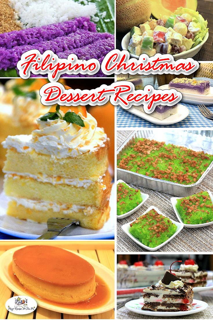Filipino Christmas Desserts