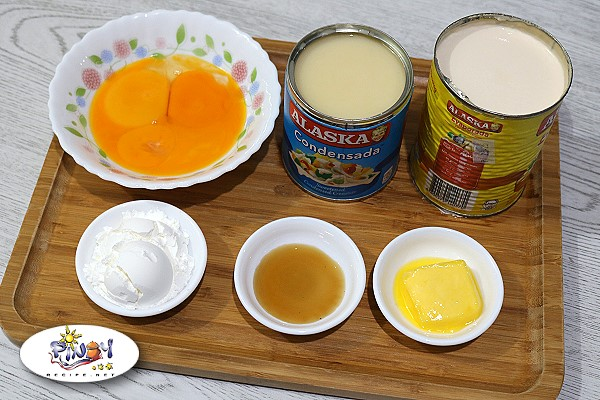Ingredients of Yema Frosting