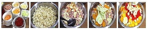luncheon meat macaroni salad ingredients 1