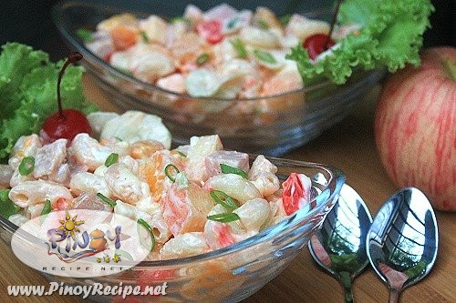 luncheon meat macaroni salad recipe