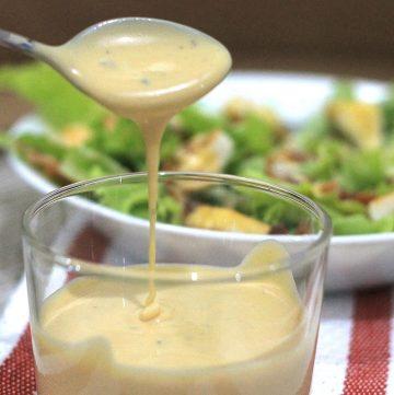 Caesar Salad Dressing Filipino Style