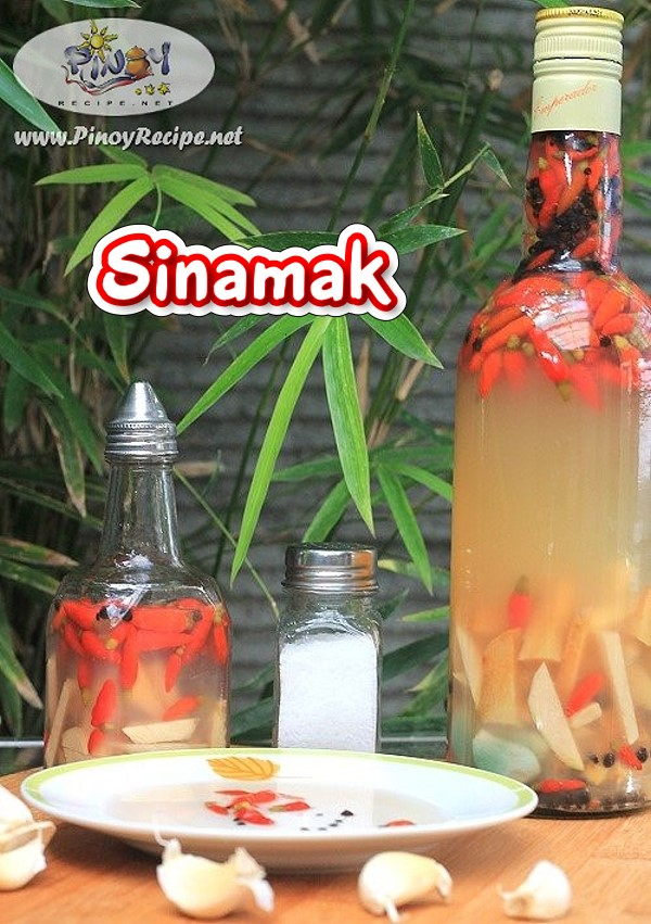 Sinamak - How to make