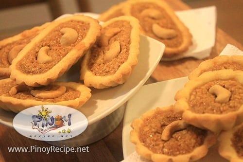 cashew boat tart recipe