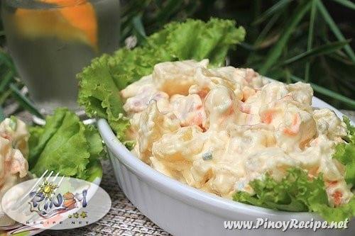 ham and potato salad recipe