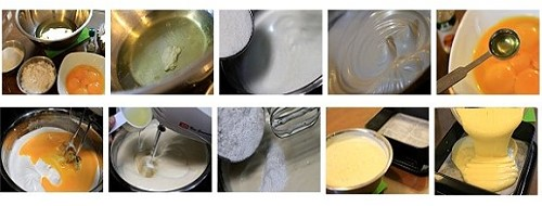 sponge cake ingredients