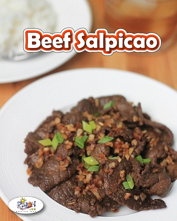 Beef Salpicao by Pinoy Recipe at iba pa