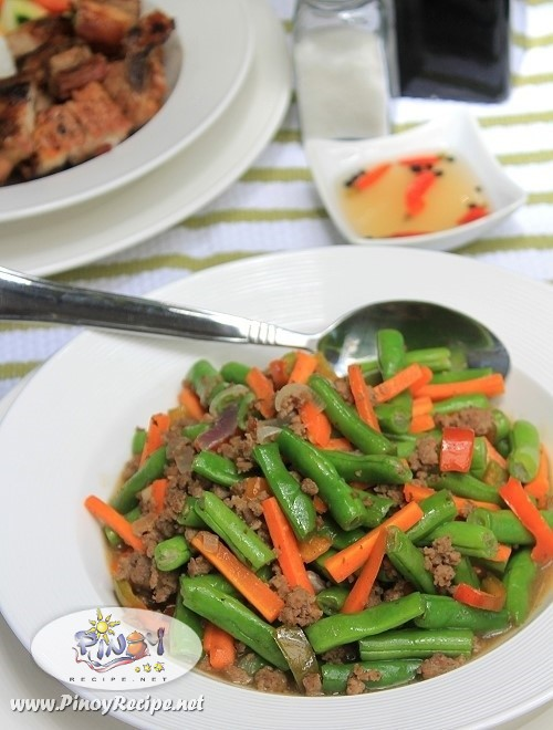 ginisang baguio beans recipe