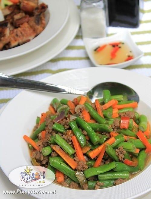 ginisang baguio beans recipe