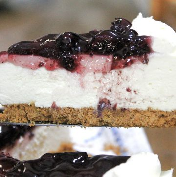 No Bake Blueberry Cheesecake Recipe