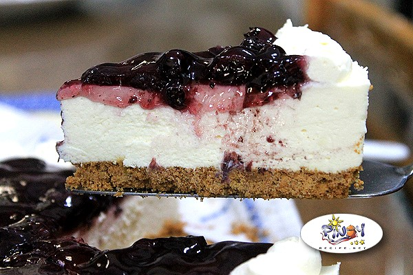 No Bake Blueberry Cheesecake