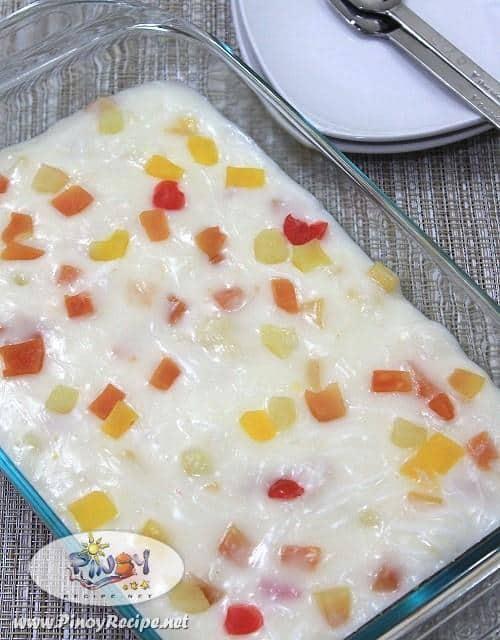 fruity maja blanca recipe
