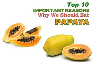 top ten health benefits of papaya