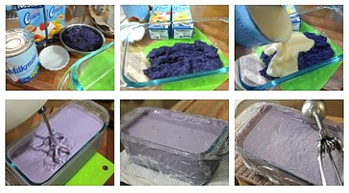 ube ice cream ingredients