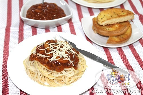 Beef Mushroom Spaghetti Filipino Recipe