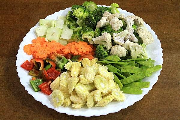 Chop Suey Ingredients