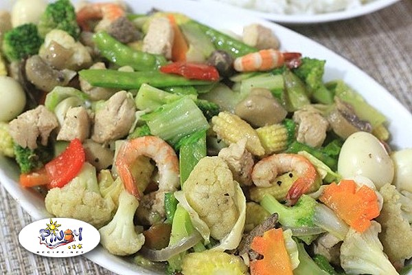 Chop Suey Recipe by PinoyRecipenet