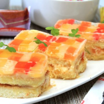 Crema de Fruta using Lemon Square Inipit