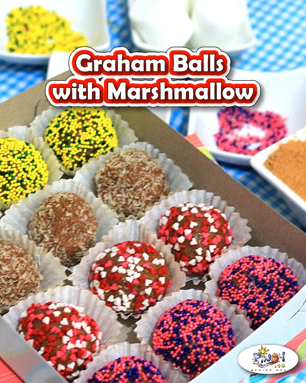 Graham Balls Recipe with Marshmallows