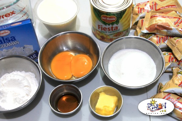 Ingredients of Crema de Fruta Lemon Square Inipit