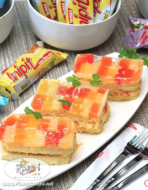 Inipit Crema de Fruta by Pinoy Recipe