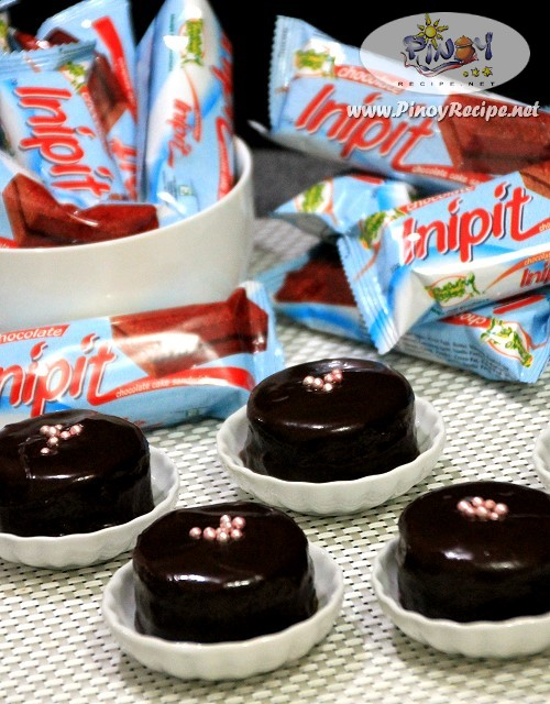 Inipit Petit Fours Recipe by Filipino Recipes Portal