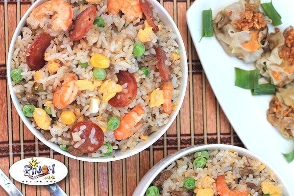 Filipino Style Yang Chow Fried Rice