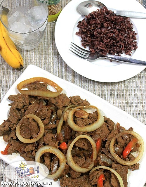 Pork Bistek recipe by Filipino Recipes Portal
