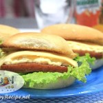 Spam Egg Salad and Cheese Pandesal Sandwich Recipe