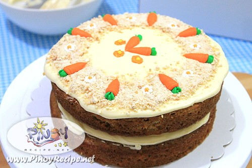 Carrot Cake Recipe by Filipino Recipes Portal