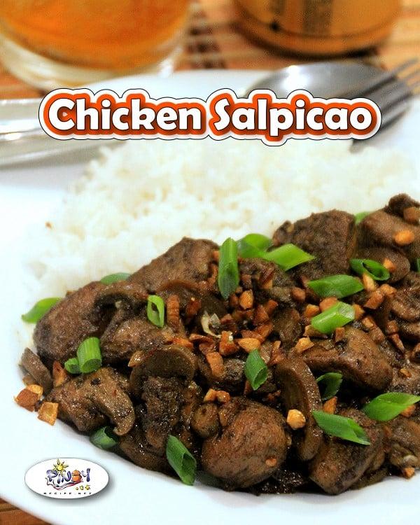 Chicken Salpicao Recipe - Pinterest