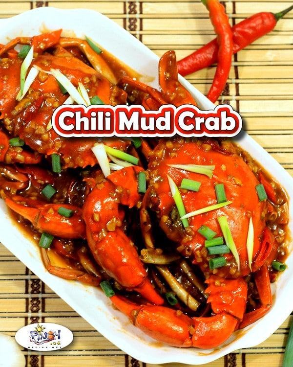 Chili Mud Crab Recipe - Filipino Style