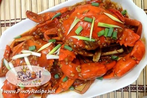 Chili Mud Crab Recipe by Filipino Recipes Portal
