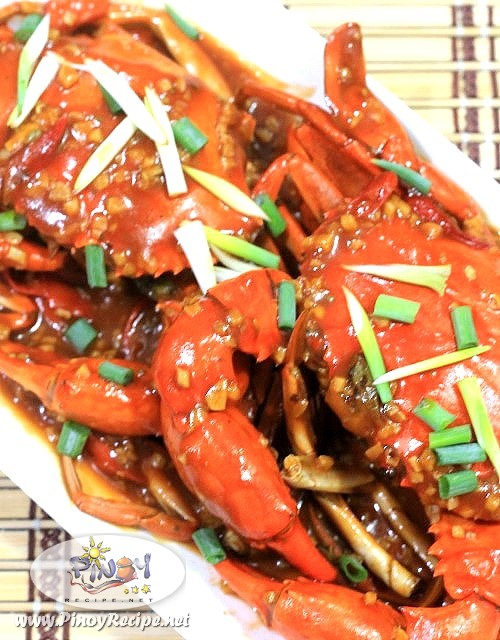 Chili Mud Crab by Filipino Recipes Portal